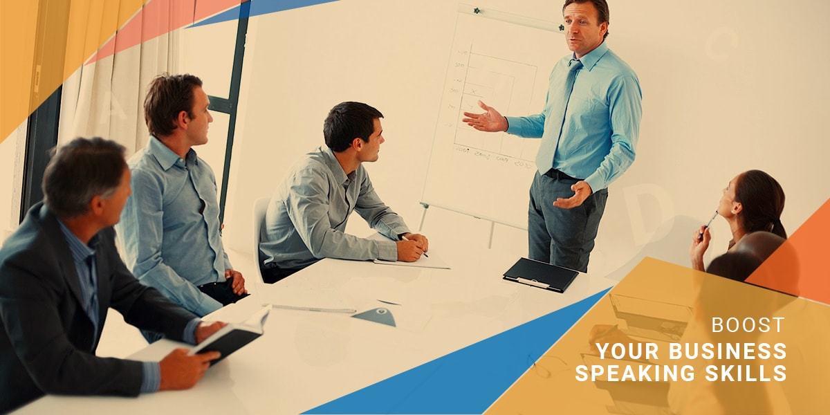 Boost your business speaking skills